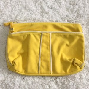Vera Bradley Bags - 3/$15 Vera Bradley Yellow Makeup Cosmetic Pouch
